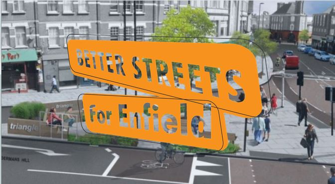 better streets for enfield logo