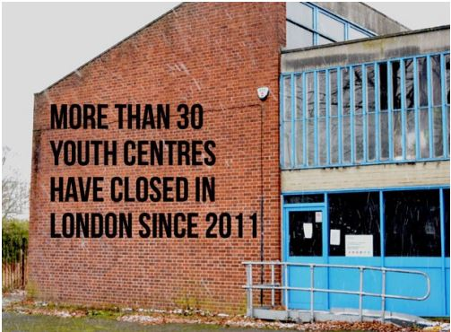 more than 30 youth centres have closed